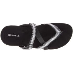 Merrell District Mendi Thong Chaussons Femme, black